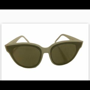 Baby green chunky glasses HOT